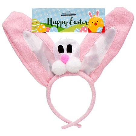 New 380121  He Easter Headband W / Asst Clrs (24-Pack) Easter Cheap Wholesale Discount Bulk Seasonal Easter Mothers And Fathers Day - Cheap Leis In Bulk