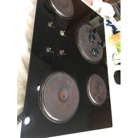 GE quality product 4 burner flat cook top jp3322l186 Vintage Rare