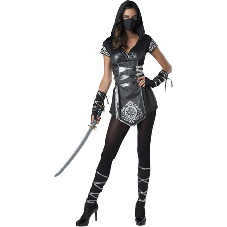 Ninja Warrioress Women's Halloween - Female Ninja Weapons