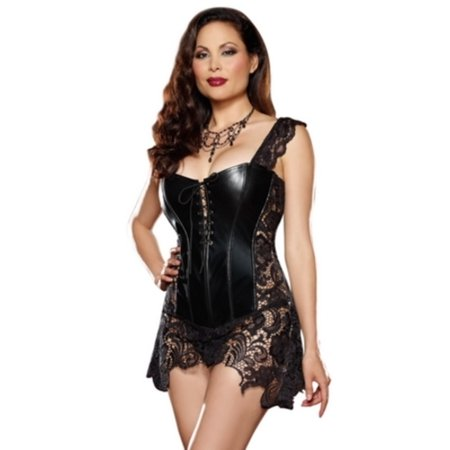 Queen Beyonce Corset 9367X by Dreamgirl Black](Corsets For Halloween)