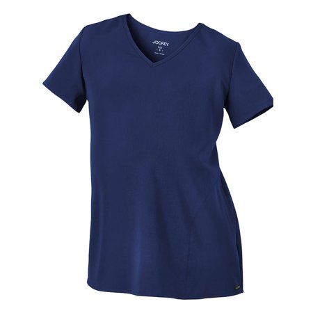 64ca7ac069a Jockey reg  Scrubs - Classic Fit Collection by Jockey® Women s Maternity  V-Neck Back Pleat Solid Scrub Top - Walmart.com
