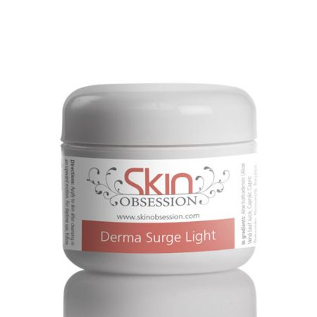 Skin Obsession Derma Surge Light Natural Skin Care Acne Scars Prone Anti Aging Reduce Wrinkles Sunburn Blackheads Dark Spots & Brightens Skin Glow (Best Way To Reduce Acne Scars)