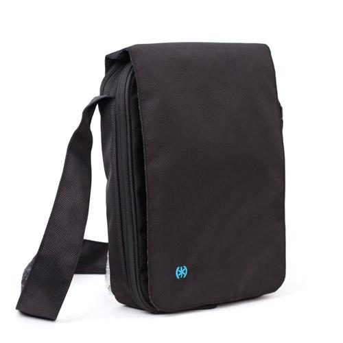 PortPack 10 for Netbooks, Black/Grey Tartan Lining