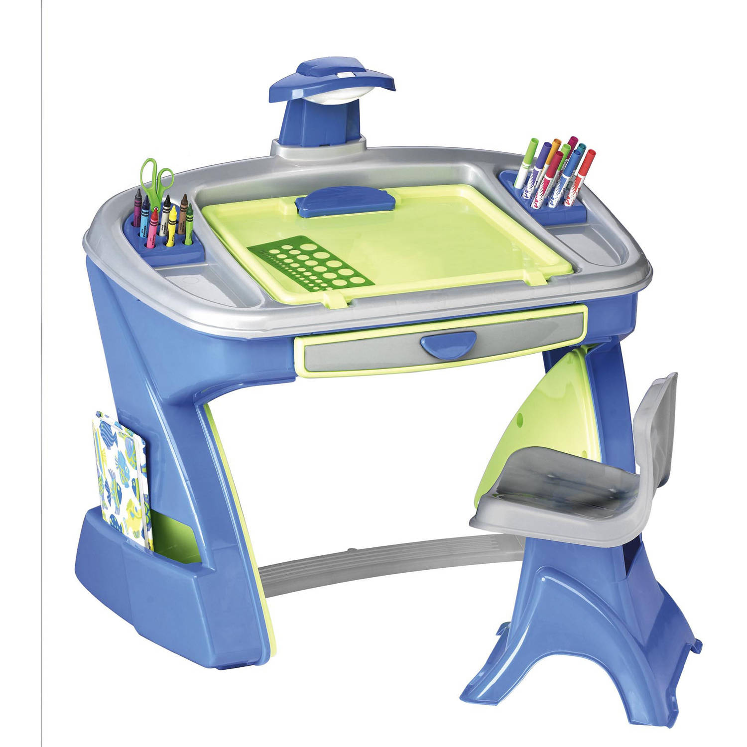 american plastic toys creativity desk and easel walmart com