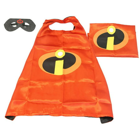 Fragile Box Halloween Costume (Cartoon Costume - Incredibles Logo Cape and Mask with Gift Box by)