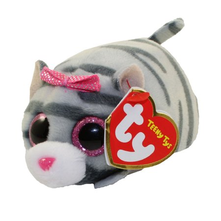 TY Beanie Boos - Teeny Tys Stackable Plush - CASSIE the Cat (4 - Beanie Boo Cat