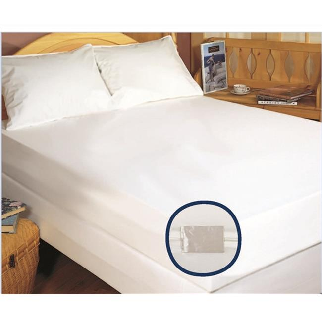 Bargoose Home Textiles 97880Z-16T The Bedbug Solution Elite King Zippered Mattress-Boxspring Cover - 78x80x16