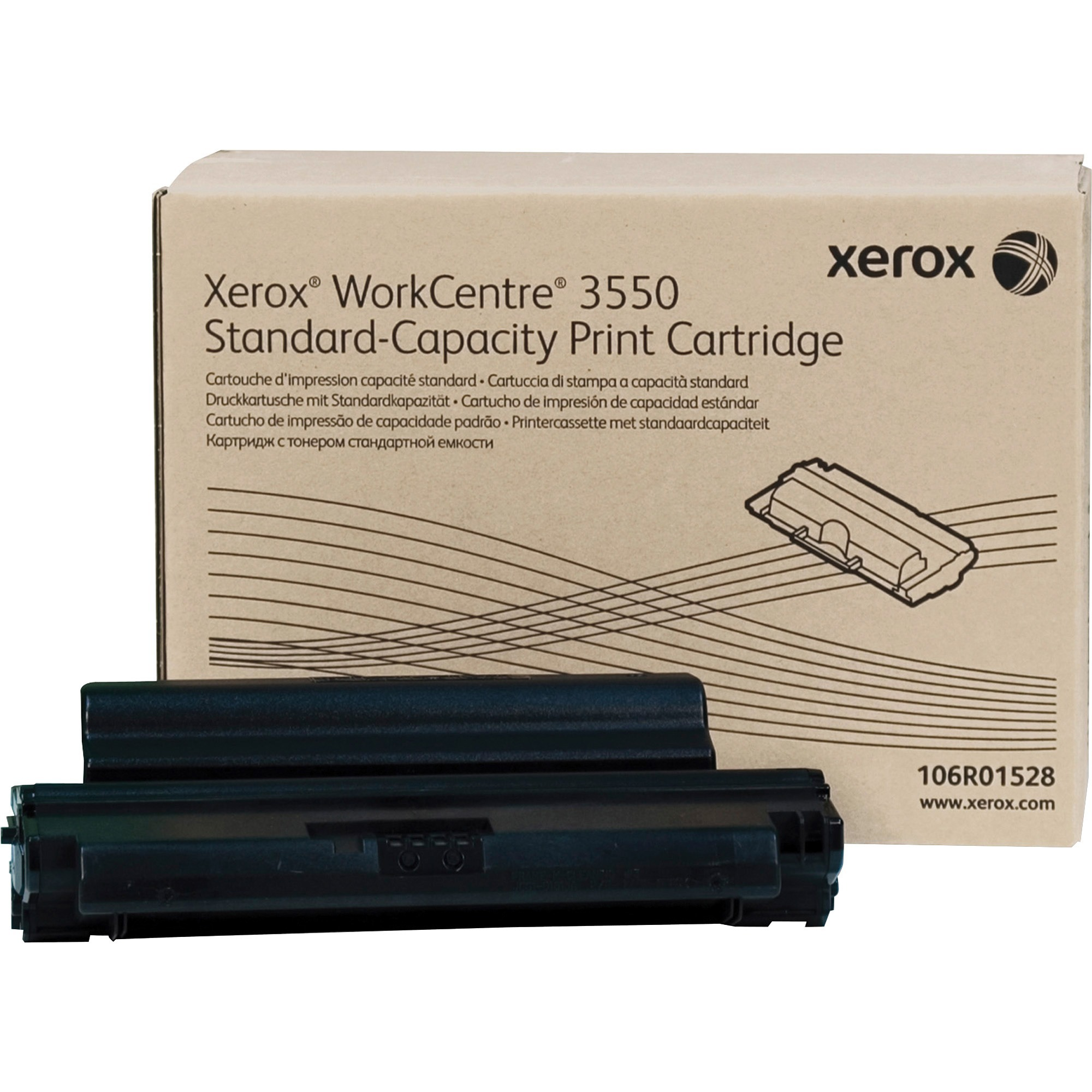 Xerox, XER106R01528, 16R1528 Toner Cartridge, 1 / Each