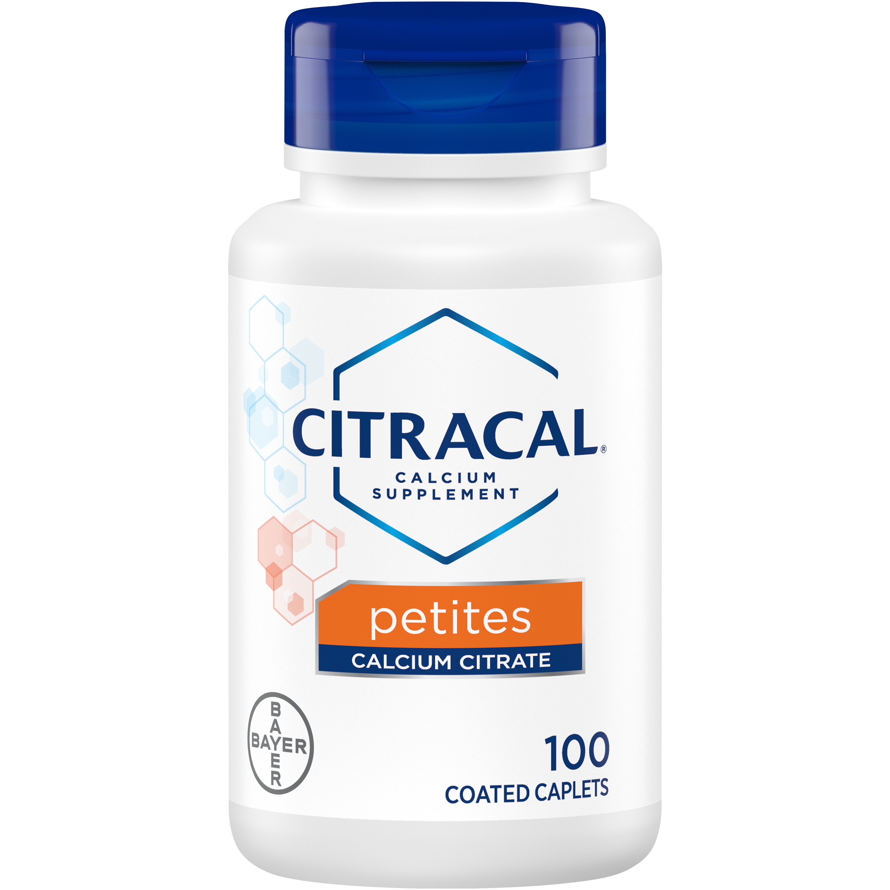Citracal Petites, Calcium and Vitamin D3 Supplement to Support Bone Health*, 100 Easy-to-Take Caplets