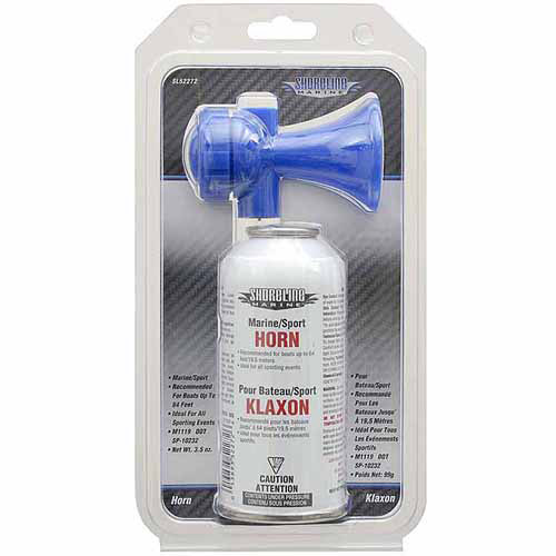 Shoreline Marine Air Horn, 3.5 oz