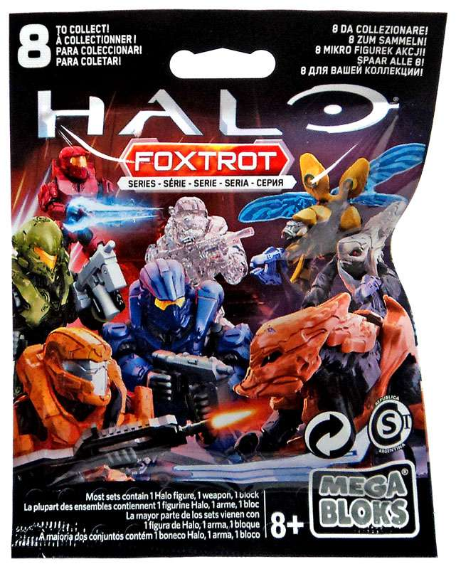 Mega Bloks Halo Foxtrot Mystery Pack by