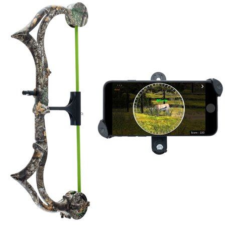 AccuBow Realtree Edge Series Bow Archery Trainer Standard Model + Phone