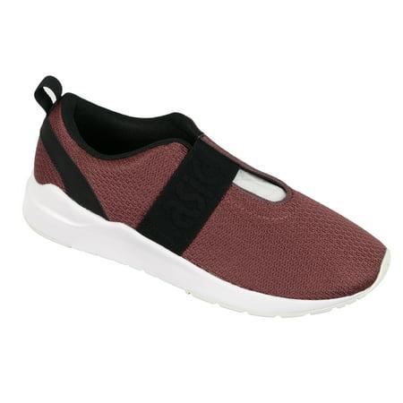 pas mal c6f15 0d209 Asics Women's Gel Lyte Komachi Strap Trainer Shoes Rose Taupe Black White