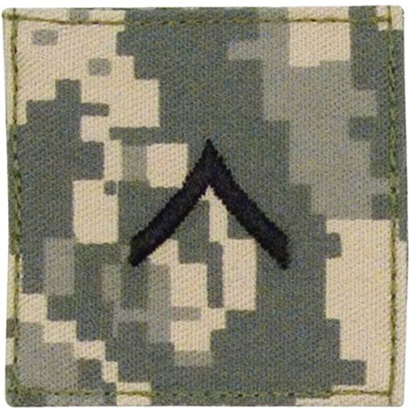 ACU Digital Camouflage - Military Private Insignia Patch PVT