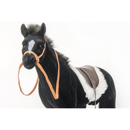 A Girl for All Time Horse, Blanket and Saddle for 16 inch doll ()