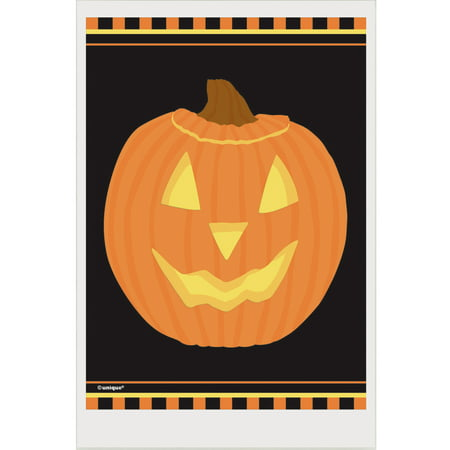 Pumpkin Halloween Favor Bags, 6 x 4in, 50ct - Halloween Sweets Bags