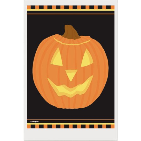 Pumpkin Halloween Favor Bags, 6 x 4in, 50ct