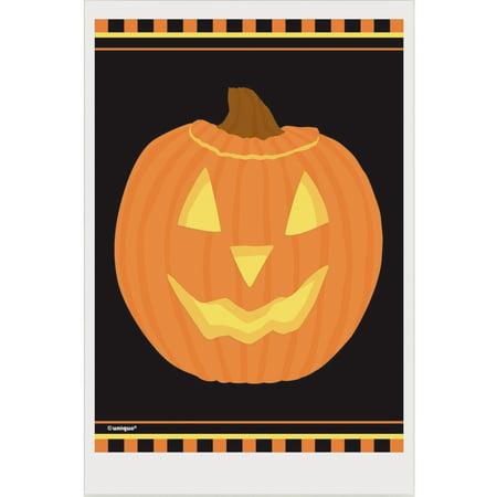 Pumpkin Halloween Favor Bags, 6 x 4in, - Dollar Tree Halloween Bags