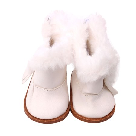 6145625f79f5 Mosunx Winter Glitter Doll Shoes For 18 Inch American Girl Doll Accessory Girl s  Toy - Walmart.com