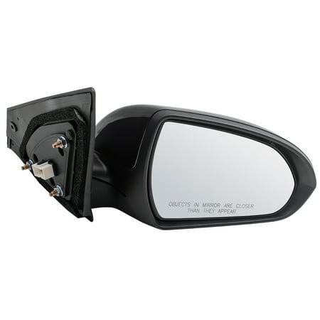BROCK Power Side View Mirror Passenger Replacement for 17-18 Hyundai Elantra Sedan USA 87620-F3050