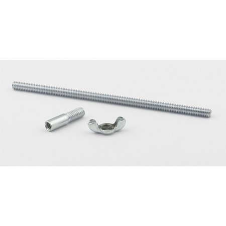 Mr. Gasket 6399 Air Cleaner Mounting Stud  5 Inch Overall Length; Cadmium Plated - image 1 de 2