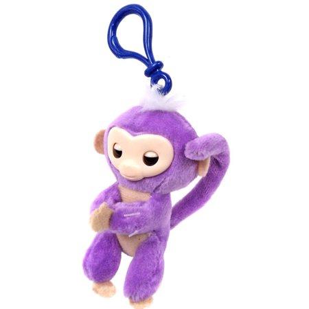 Fingerlings Purple Plush Hugger Clip On Plush
