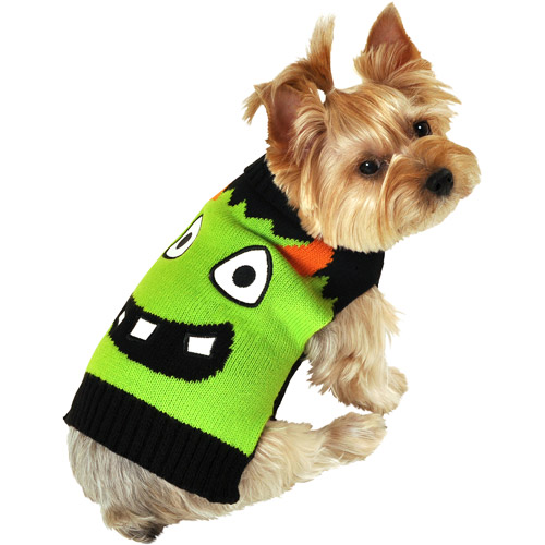 SimplyDog Giant Monster-Face Dog Sweater, Multiple Sizes Available