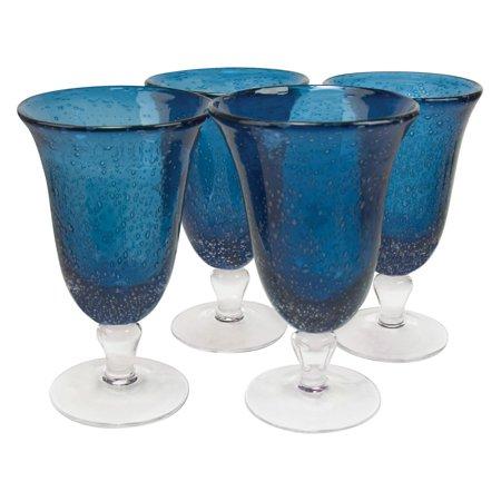 Artland Inc. Iris Slate Blue Ice Tea Glasses - Set of 4