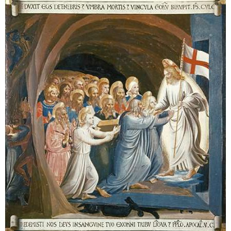 Museumist In Limbo Poster Print by Fra Angelico (24 x 24)