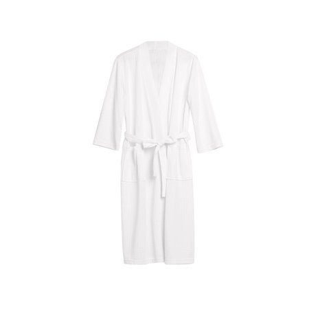 Personalized Wedding Robes (Robe for Women Men Couple Bath Robes Practical Waffle Weave Bathrobe Night-robe for Spring and Summer, White,)
