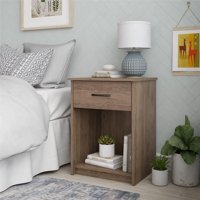 Mainstays 1 Drawer Bedroom Nightstand