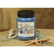 LANG Coastal Breeze 26-Ounce Jar Candle, Scented with a Fresh Blend of Fabric Softener and Sea Salt