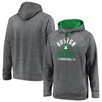 Boston Celtics Fanatics Branded Battle Charged Pullover Hoodie - Gray