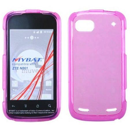 ZTE N861 Warp Sequent Candy Skin Cover, Hot Pink Argyle Pane ()