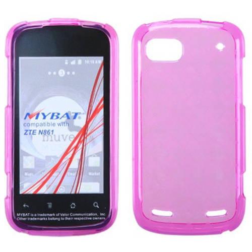 ZTE N861 Warp Sequent Candy Skin Cover, Hot Pink Argyle Pane