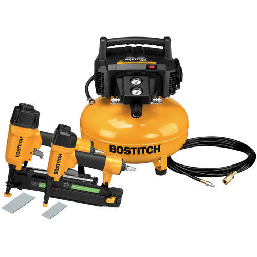 Bostitch BTFP2KIT 2-Piece Nailer and Compressor Combo Kit by