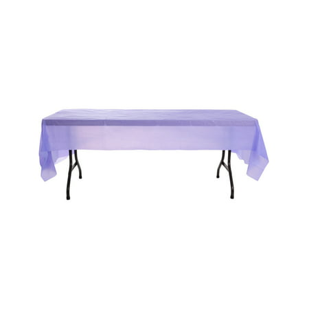 Purple Birthday Halloween Party Decoration Plastic Table Cloth Cover