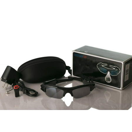 DVR Camcorder Sunglasses w/ HD UV-protected (Sunglasses Lens Types)