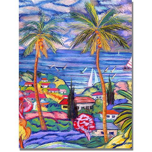 "Trademark Fine Art ""Hawaii Wind Surf"" Canvas Art by Manor Shadian"