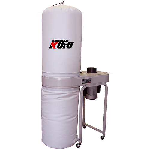 Kufo Seco 2 HP 1550 CFM 3-Phase 220 440V Vertical Bag Dust Collector by KUFO