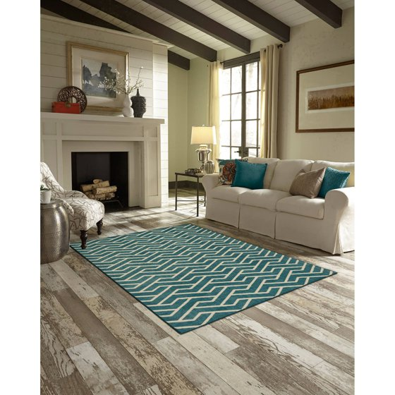 Better homes and gardens rowan print area rugs or runner for Better homes and gardens swimming pools