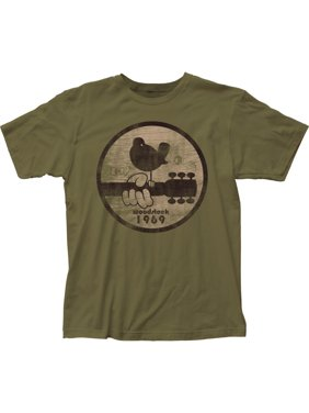 Woodstock Music And Arts Festival 1969 Adult Fitted Jersey T-Shirt Tee