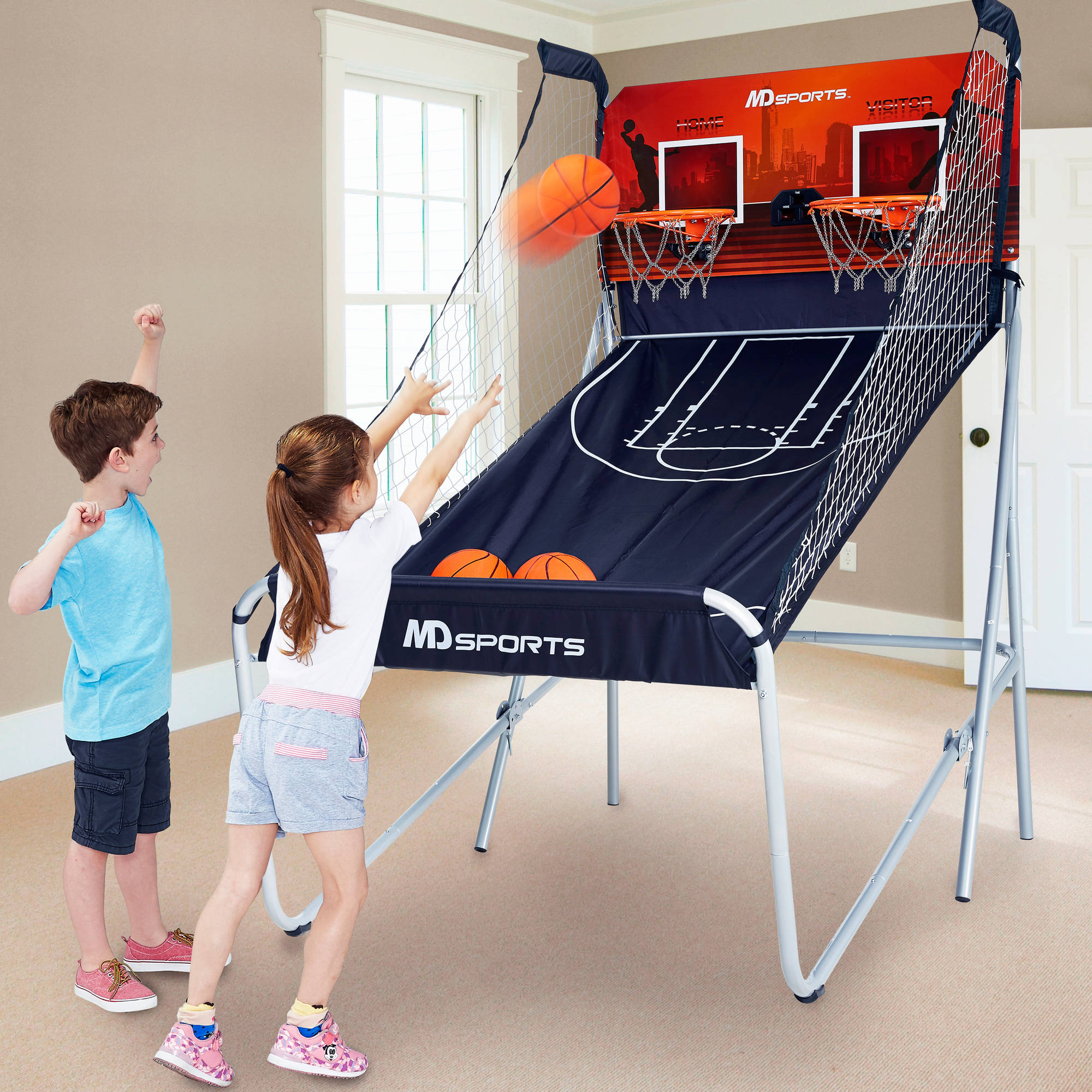 Md Sports Premium 2-player Basketball Ga