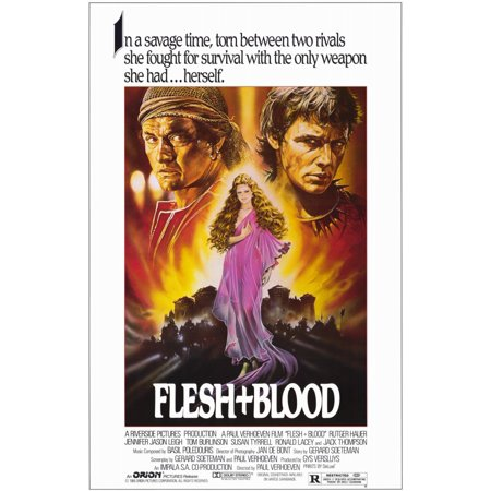 Flesh And Blood Poster Movie Mini Promo