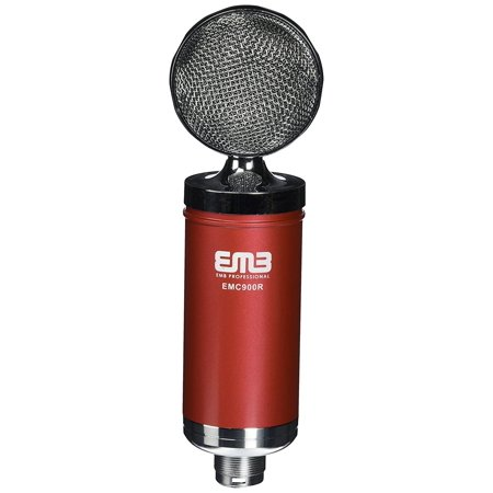 Large Diaphragm Multi Pattern Condenser (EMB EMC900 Professional High-Performance Multi-Pattern Large Diaphragm Condenser Project Studio Microphone RED)