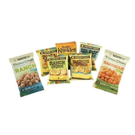 - BariatricPal Protein Chips, Crisps & Krinkles - Variety Pack