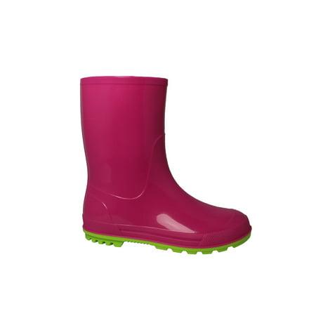Wonder Nation Girls' Rain Boot - Photo Booth Do It Yourself