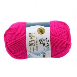 KABOER Milk Cotton Baby Thread (52g/1.8 oz) Imported Cotton Yarn, Pack of 5 ()