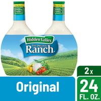 Hidden Valley Original Ranch Salad Dressing & Topping, Gluten Free - 24 Ounce Bottle - 2 Pack