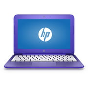 "Refurbished HP Violet Purple 11"" Stream Laptop PC with Intel Celeron N3050 Dual-Core Processor, 2GB Memory, 32GB Hard Drive and Windows 10 Home"